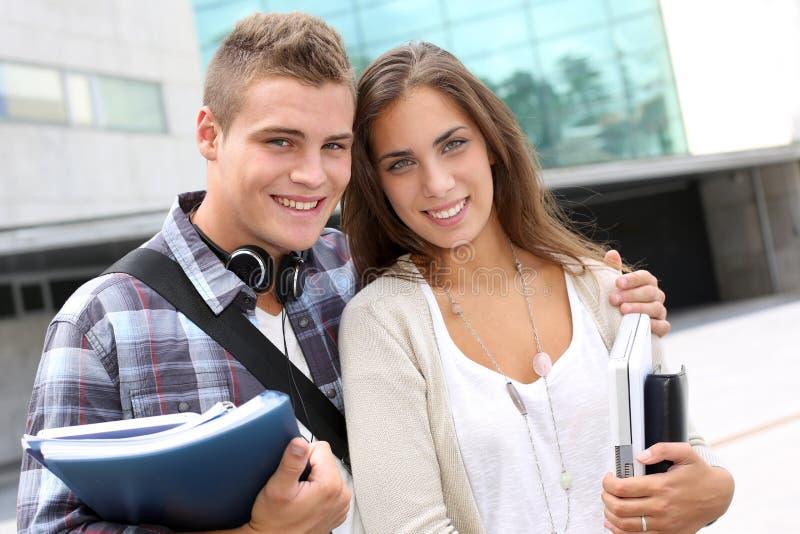 Het portret van studenten royalty-vrije stock foto