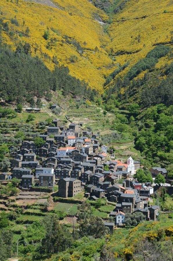 Het Portugese dorp van Piodão royalty-vrije stock foto's