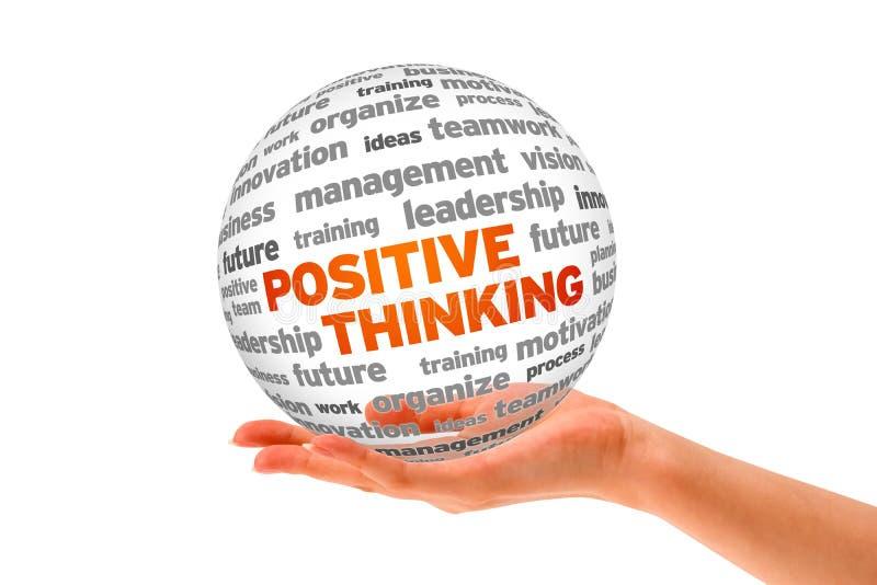 Het positieve Denken vector illustratie