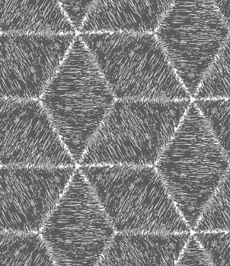 Het potlood broedde grijze kubussen uit royalty-vrije illustratie