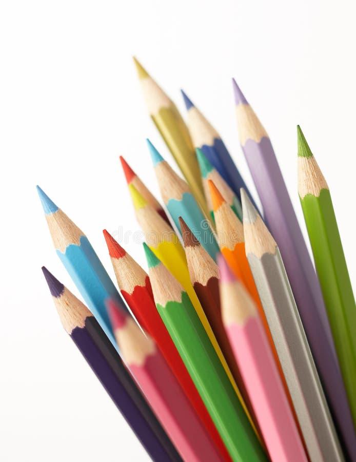 Het potlood van de kleur stock fotografie
