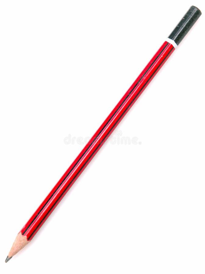 Het potlood van het lood stock foto's