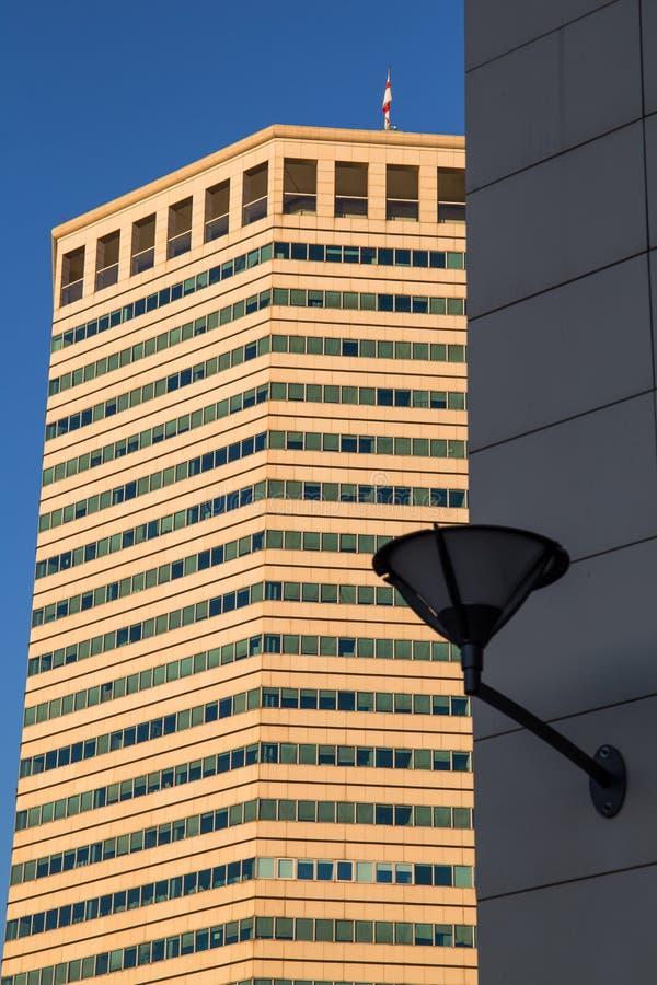 Het het Potloodgebouw van ` Matitone ` is een wolkenkrabber door Skidmore, het Verschuldigd zijn, Merrill, Lanata en Messina, Ita stock foto's