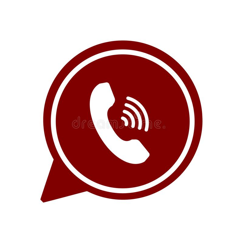 Het praatjepictogram, sms pictogram, praatje, bel, commentarenpictogram, mededeling, besprekingspictogram, vraag, groep sms, toes royalty-vrije stock afbeelding