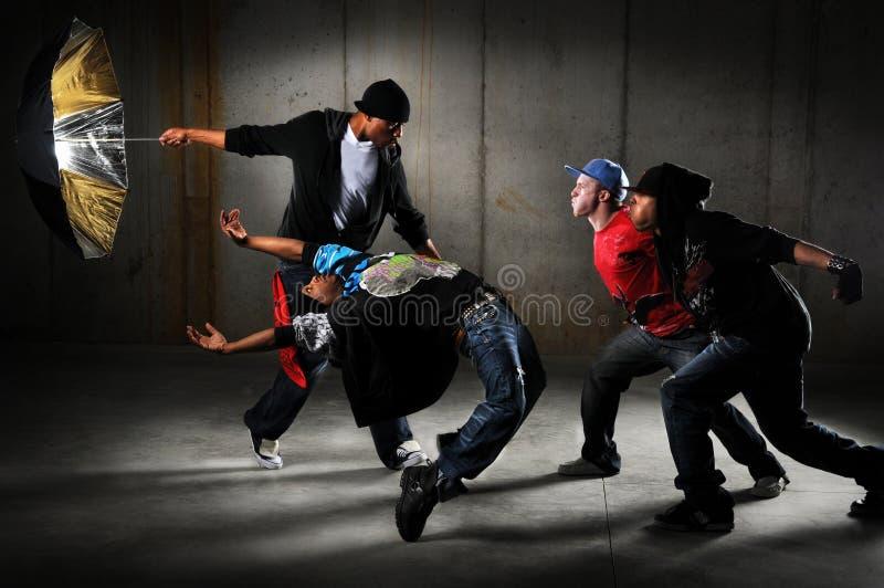 Het Presteren van de Mensen van Hip Hop