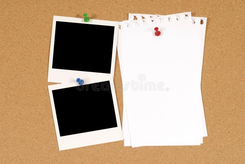 Het prikbord van royalty-vrije stock foto
