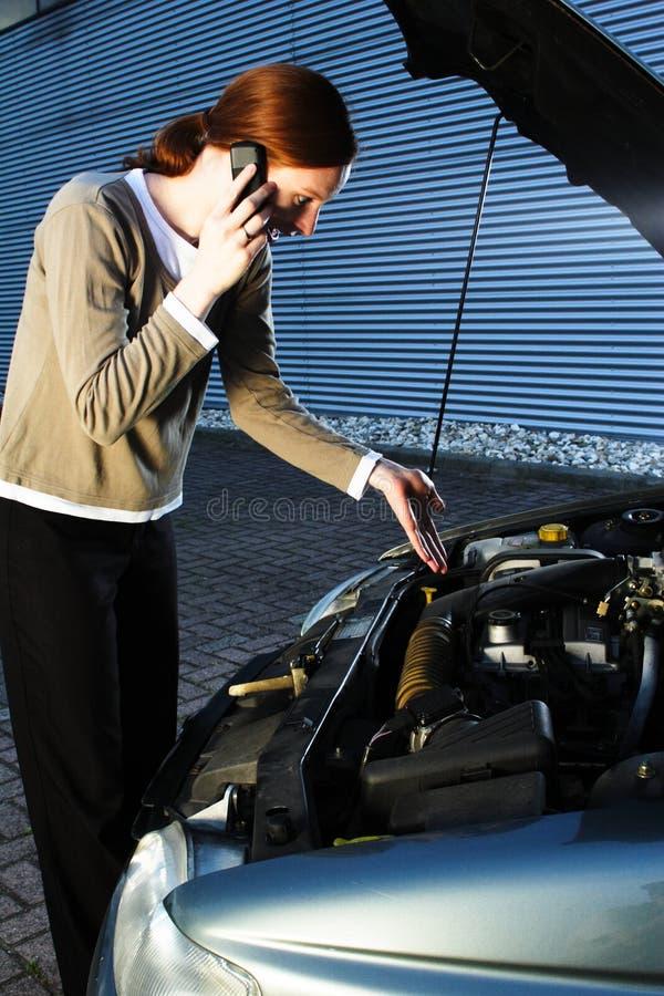 Het Probleem van de auto stock fotografie