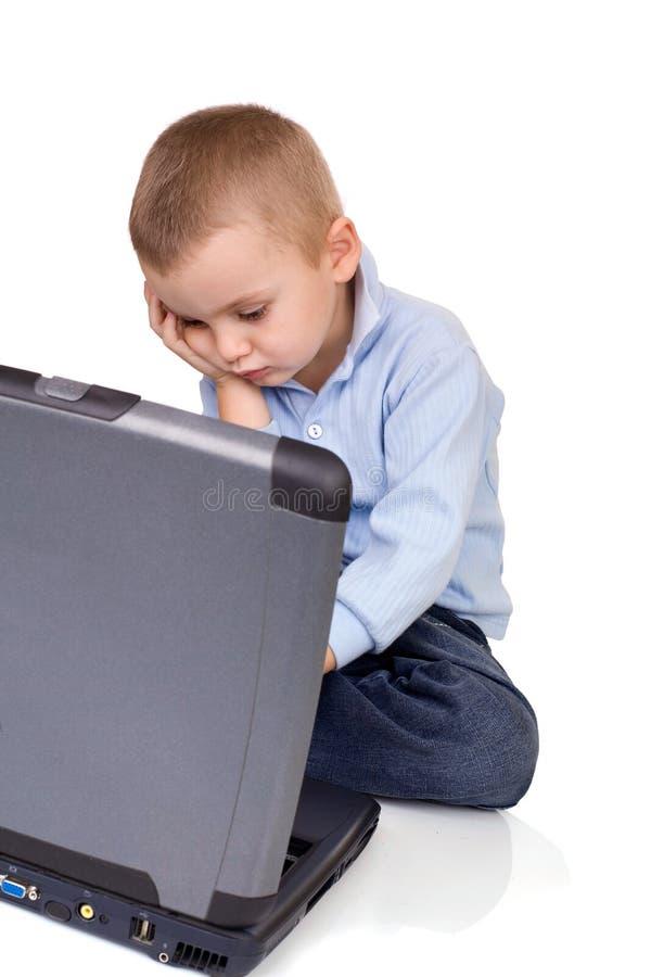 Het probleem van de computer stock foto