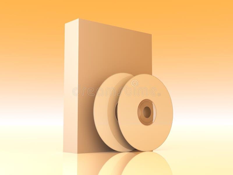 Het Product van de software stock illustratie