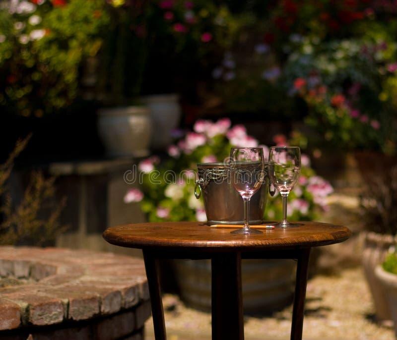 Het Proeven van de wijn stock foto's