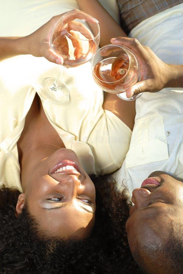 Het proeven van de wijn royalty-vrije stock fotografie