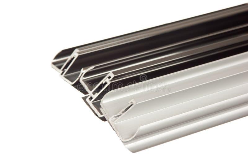 Het profiel van het aluminium royalty-vrije stock foto's