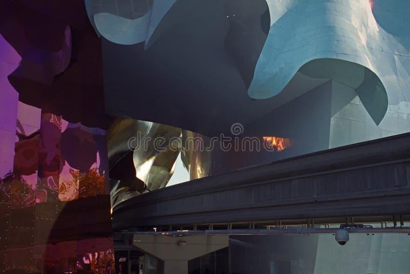 Het Project en de Monorail van de Muziek van de ervaring royalty-vrije stock afbeelding