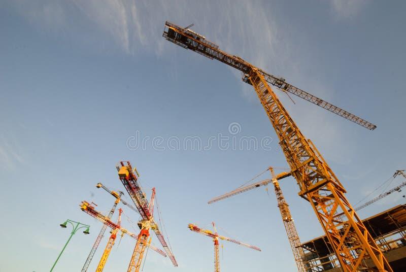 Het project van de bouw stock fotografie