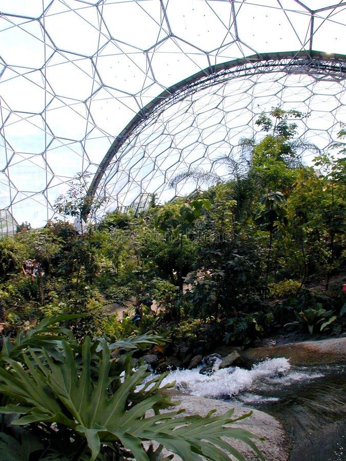 Het Project van Eden - Bioma royalty-vrije stock foto's