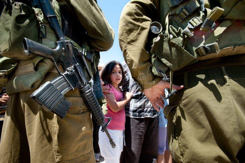 Het Protest van Cisjordanië royalty-vrije stock fotografie