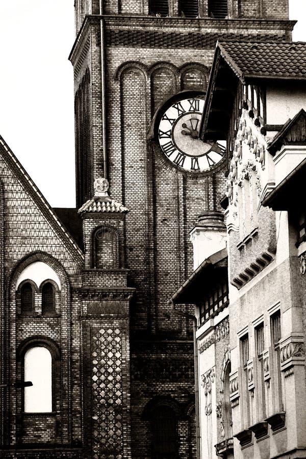 Het protestantse Detail van de Kerk stock foto's