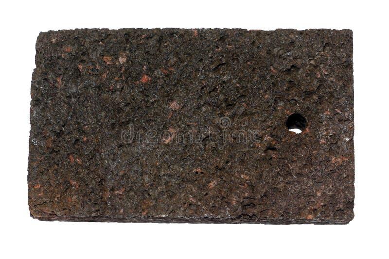 Het puim is een poreus licht vulkanisch materiaal stock fotografie