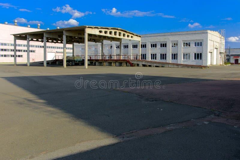 Het punt van begrafenis van radioactief afval van Tchernobyl royalty-vrije stock afbeelding