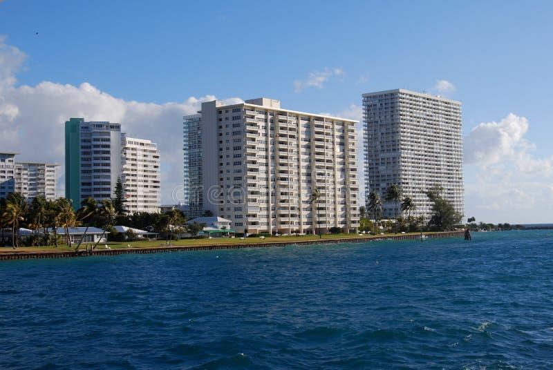 Het Punt van de Flat van Fort Lauderdale van Amerika royalty-vrije stock afbeelding