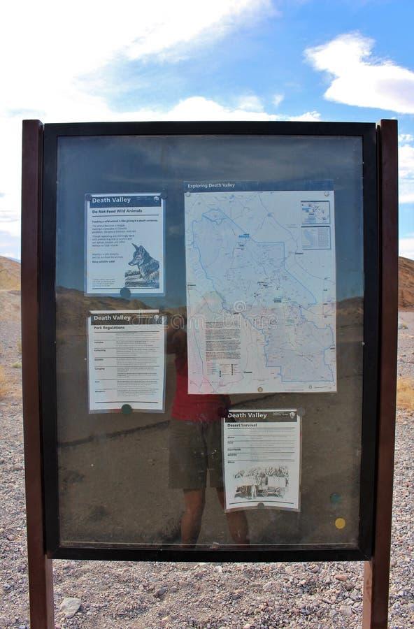 Het Punt van gezichtspuntzabriskie, Doodsvallei, de V.S. stock foto's