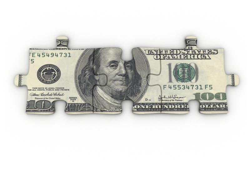 Het raadsel van de dollar royalty-vrije illustratie