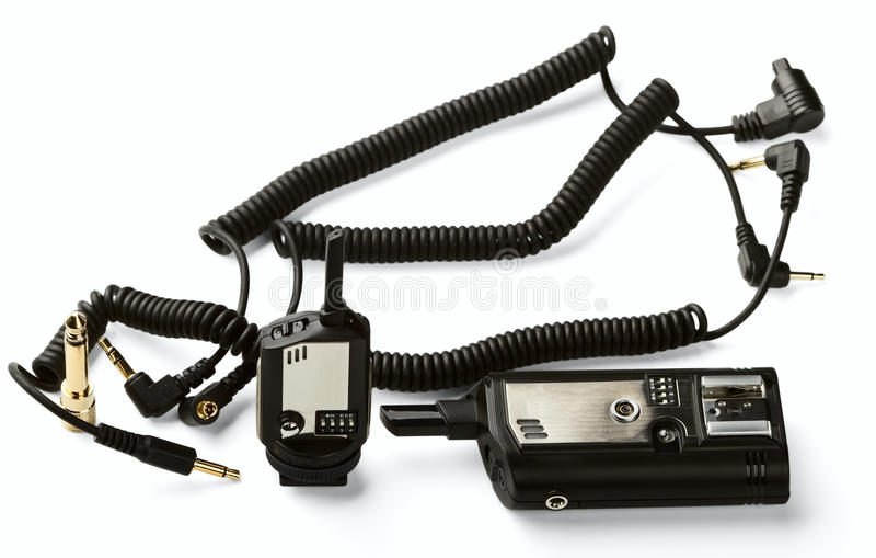 Het radio Systeem van de Slaaf stock foto's