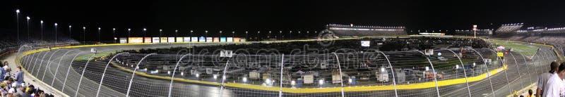 Het Ras 2010 van de alle-Ster van de Speedwaybaan NASCAR van de Motor van Charlotte royalty-vrije stock afbeelding