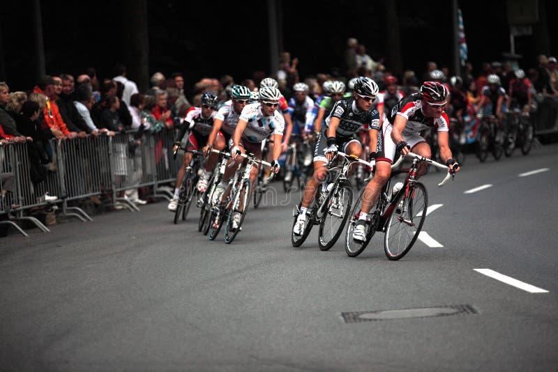 Het ras van de cyclus stock foto