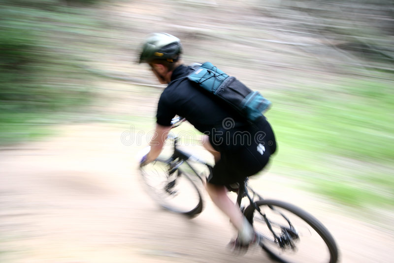 Het ras van de fiets royalty-vrije stock afbeeldingen