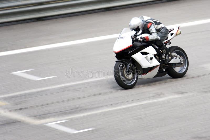 Het Ras van Superbike stock afbeeldingen