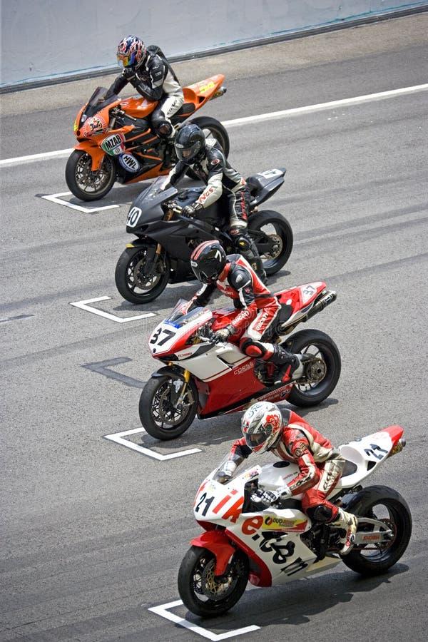Het Ras van Superbike royalty-vrije stock fotografie
