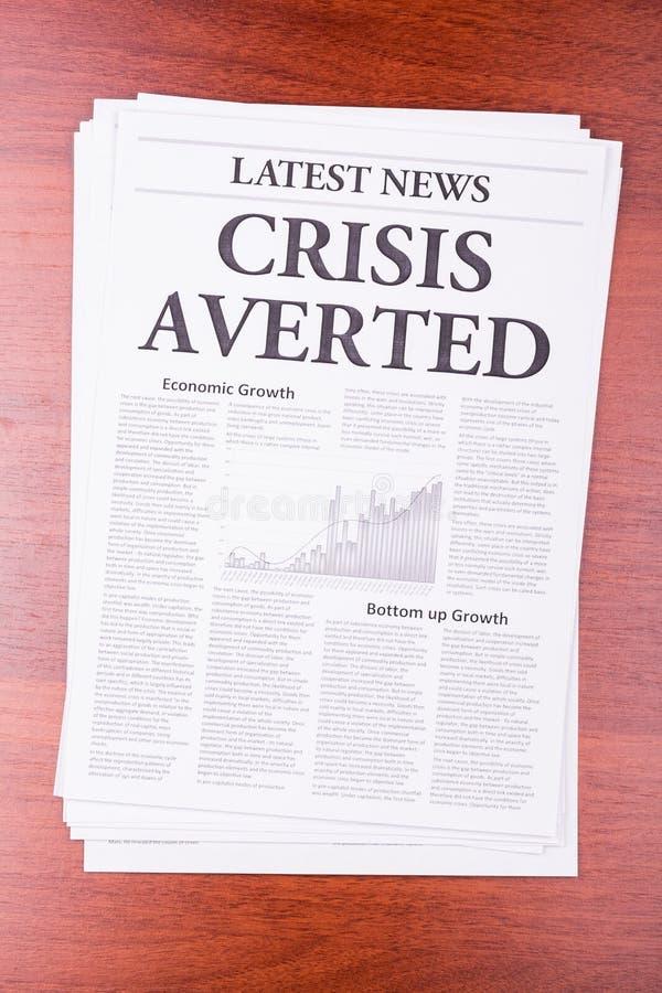 Het recentste Nieuws van de krant royalty-vrije stock afbeelding
