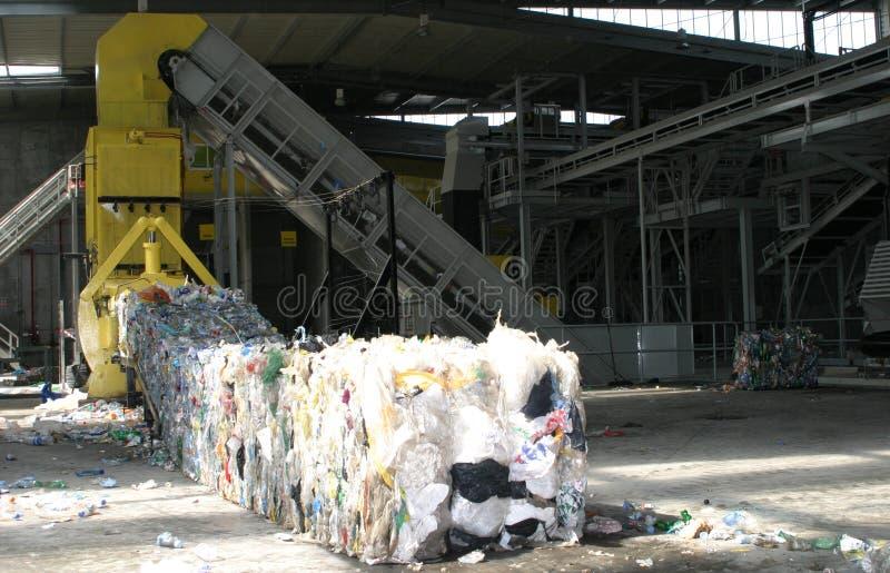 Het recycling van installatie in Mallorca