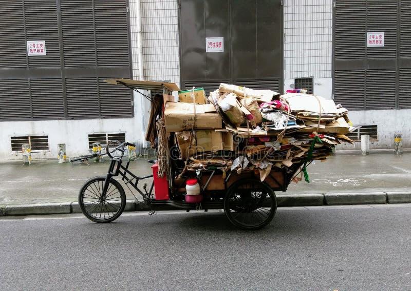 Het Recycling van Shanghai stock foto