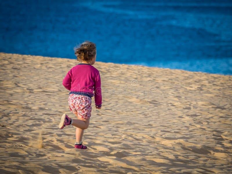 Het reduceren van de zandduinen stock foto
