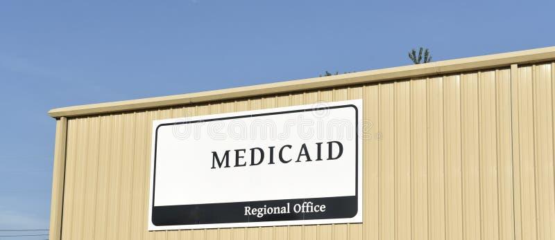 Het Regionale Bureau van Medicaid stock foto's