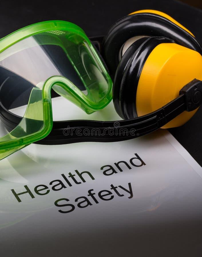 Het register van de gezondheid en van de veiligheid royalty-vrije stock afbeelding