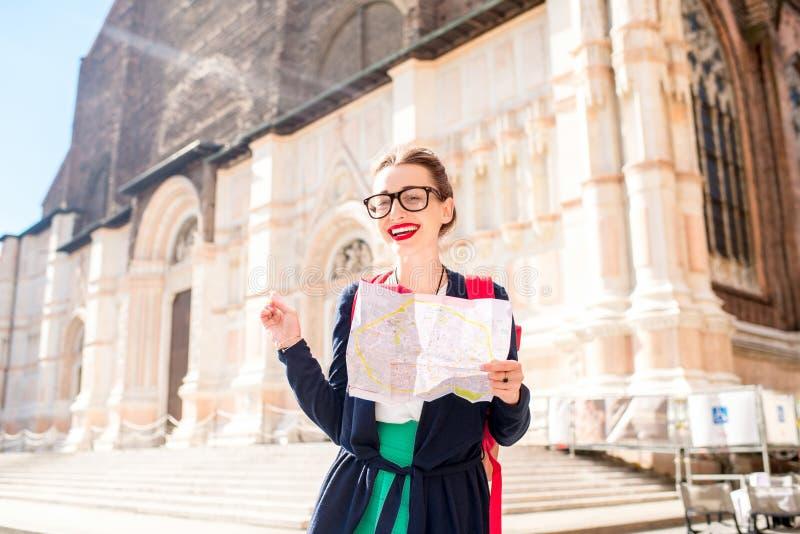 Het reizen in Bologna royalty-vrije stock foto