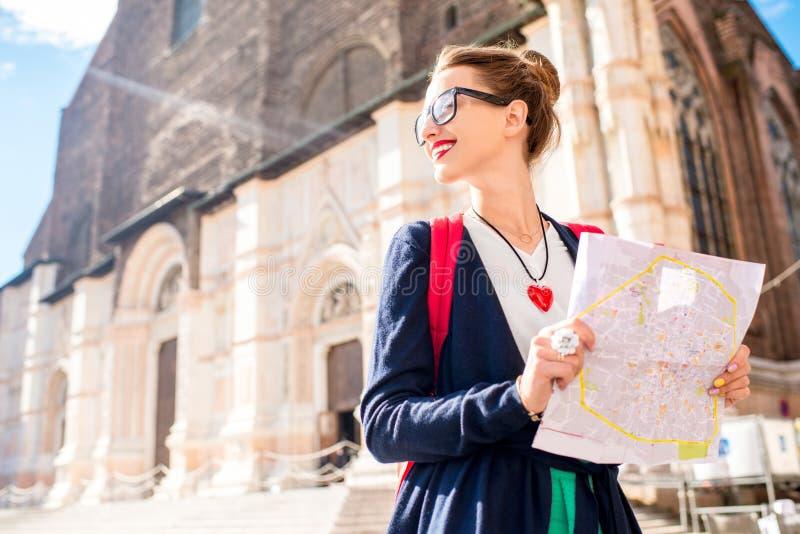 Het reizen in Bologna royalty-vrije stock afbeeldingen