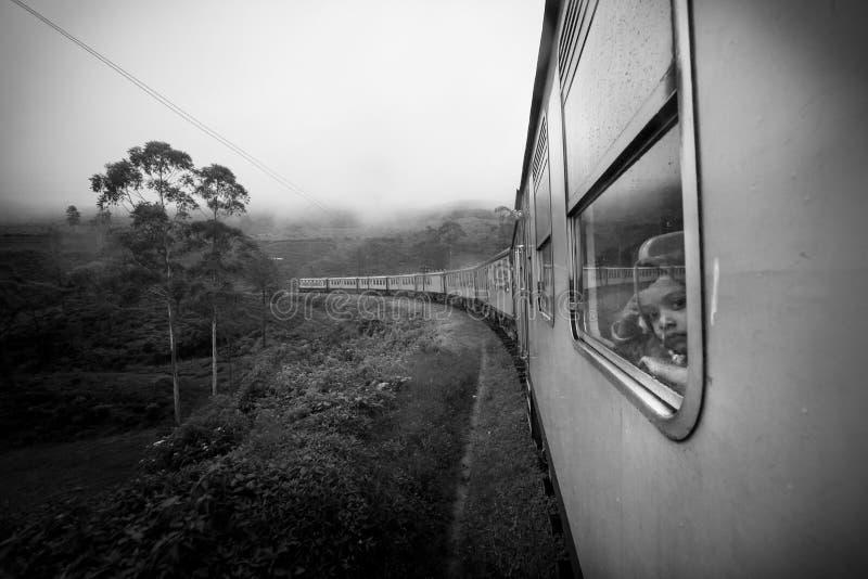 Het reizen door trein royalty-vrije stock afbeelding