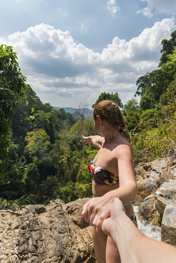 Het reizen samen in Azië royalty-vrije stock afbeelding