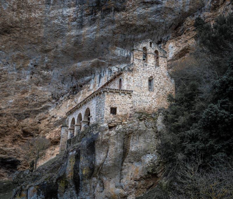 Het reizen van de provincie van Burgos, Spanje! royalty-vrije stock foto