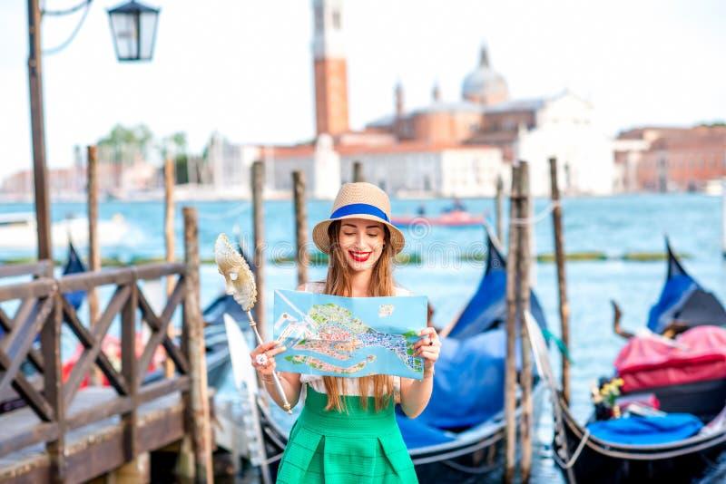 Het reizen in Venetië stock foto