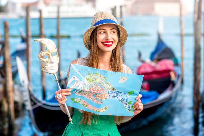 Het reizen in Venetië stock afbeelding