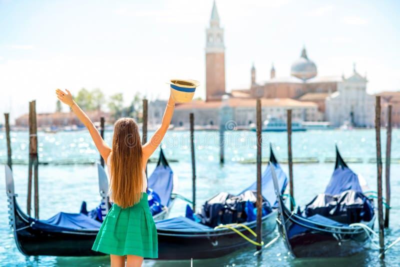 Het reizen in Venetië stock foto's