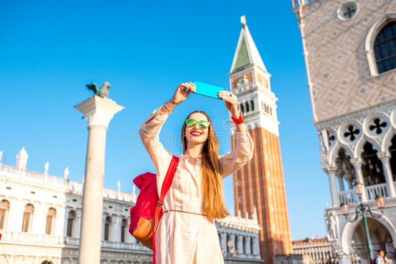 Het reizen in Venetië stock fotografie