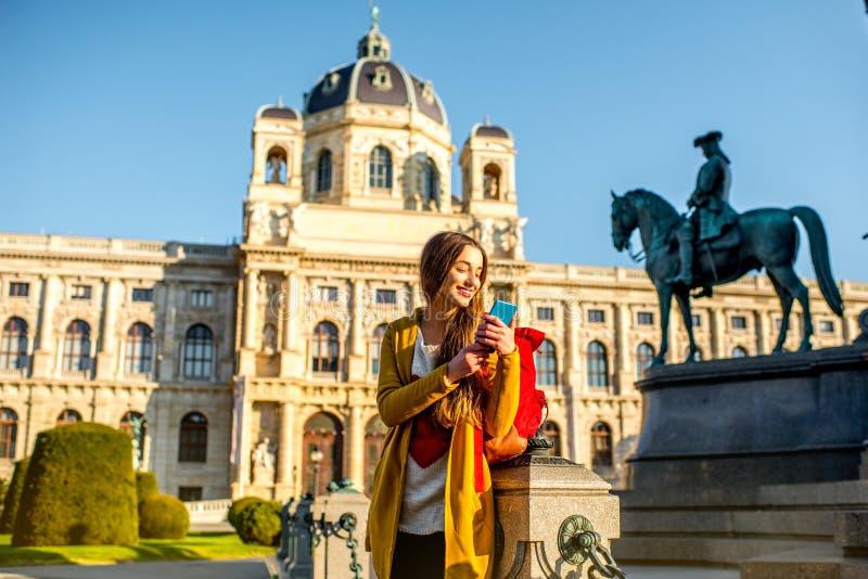 Het reizen in Wenen stock foto's