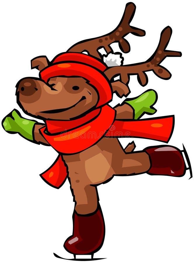 Het Rendier van Kerstmis #2 stock illustratie