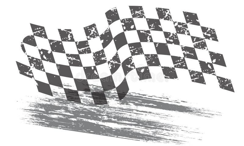 Het rennen achtergrond royalty-vrije illustratie